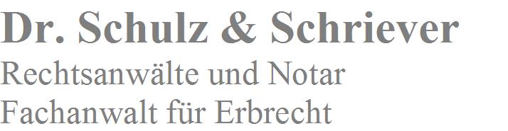 Dr. Schulz & Schriever Rechtsanwälte und Notar